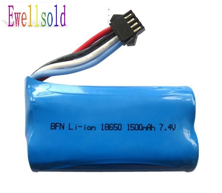 Ewellsold 7.4V 1500mah li-ion battery for 961 962 UDI902 UDI002 RC racing Boat spare part