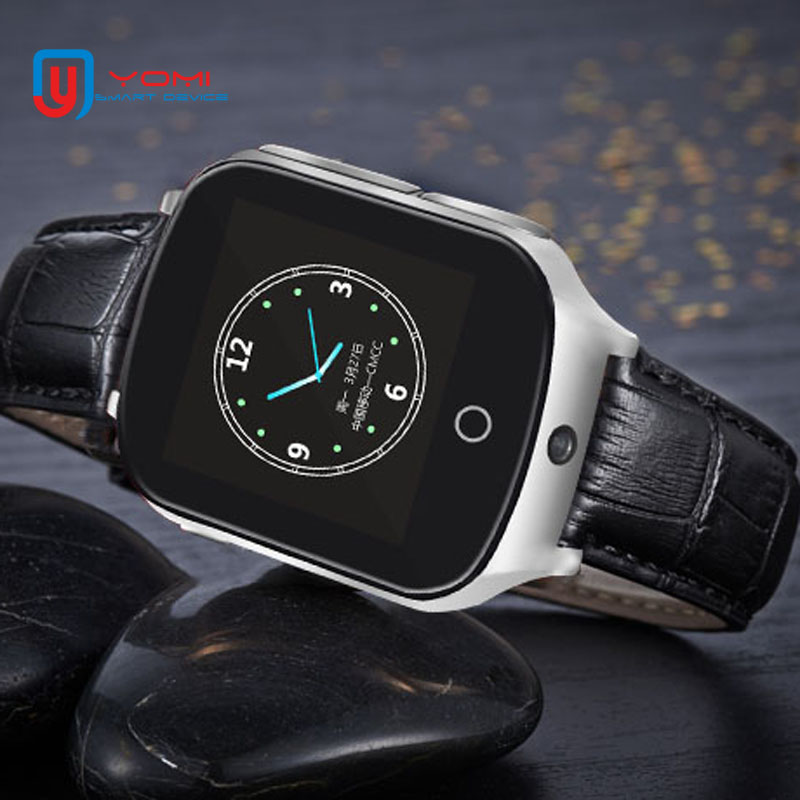3G Elder Child Smart Watch GPS WIFI Tracker Accurate Locater Remote Monitor Smartwatch with Camera for Parents Elder