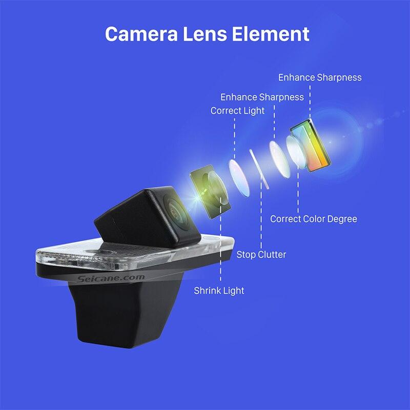 Seicane High Quality LED Waterproof For 2006-2013 Hyundai Santa fe Backup Camera Night Vision with easy installation