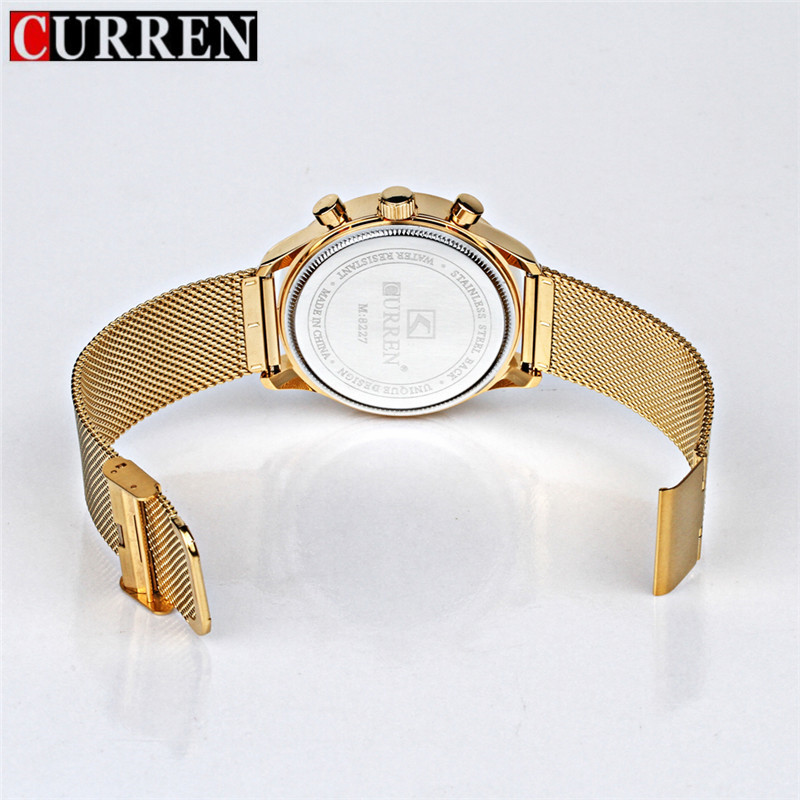 Fashion Watch men Luxury top brand steel men watch waterproof Wristwatch Men Clock quartz watch gold Fashion Watch men Luxury top brand steel men watch waterproof Wristwatch Men Clock quartz watch gold sports casual CURREN 8227