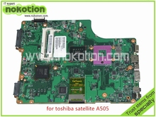 laptop motherboard for toshiba satellite A500 A505 V000198120 6050A2323101-MB-A01 DDR2