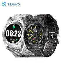 Teamyo S6 Smart часы браслет измерять кровяное давление фитнес-трекер бизнес Носимых устройств умный браслет Роскошные SmartWatch