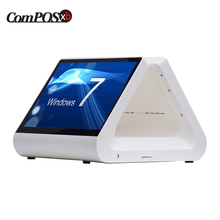 12 inch dual screen pos cheap pos machine touch screen pos system all in one pc 2017 new listing