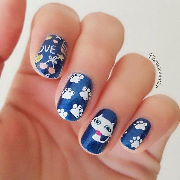 Born Pretty Nail Art Stamp Plates Cut Animal Flower Mandala Design
