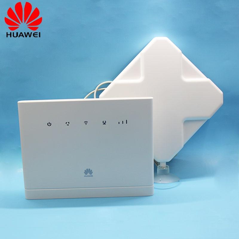 Desbloqueado Roteador Wi-fi HUAWEI B315 B315s-608 CPE 150 Mbps 4G LTE FDD TDD Gateway Sem Fio Com Antena PK B310, b593, B315s-22, E8377