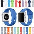 Nueva cinta de 38/42mm con adaptador de conector para apple watch edición banda de silicona correa para el iphone para iwatch deportes hebilla de pulsera