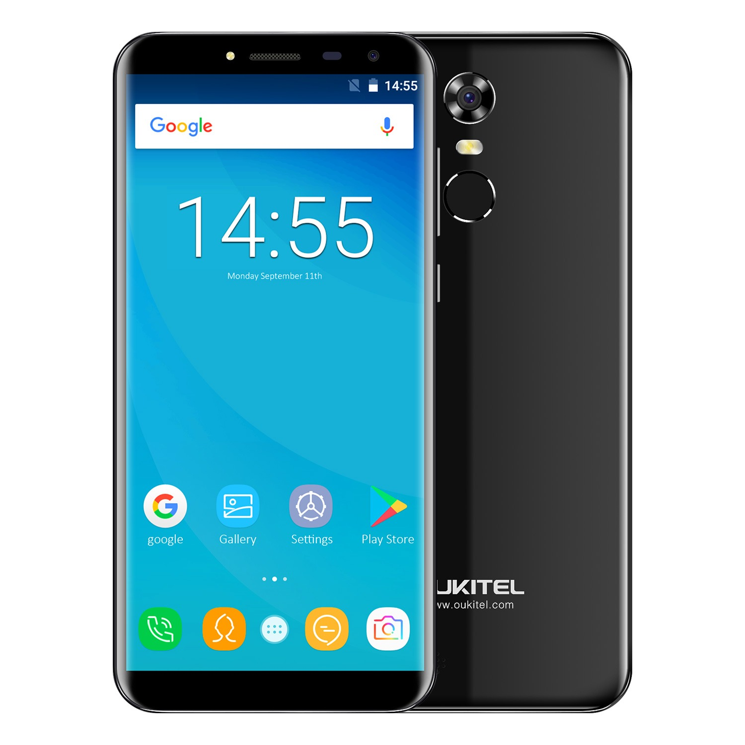 """Oukitel C8 5 5"""" 18 9 Infinity Display Android 7 0 MTK6580A Quad Core Smartphone 2G"""