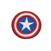 1Pc Grote Verenigde Staten Post 70Mm/2.85 Inch Superhero Leuke Cartoon Avengers Elektrische Borduurwerk Patch Strijken Sticker(China)