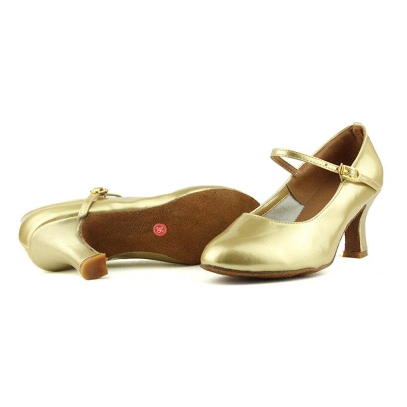 Peta 7cm Crno zlato Srebro Salsa Plesna obuća Zapatos Salsa Mujer - Tenisice - Foto 3