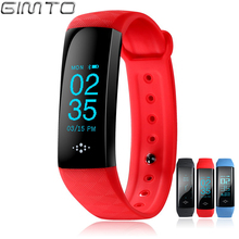 GIMTO Sport Women Bracelet Smart Watch Men LED Digital Waterproof Heart Rate Sleep Monitor fitness tracker