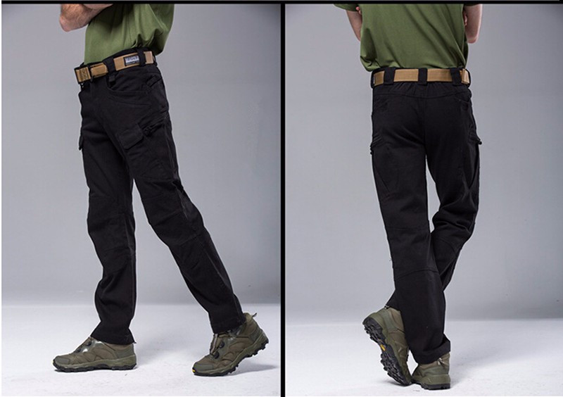 Shanghai Story Comemall Men Ix7 C Tactical Pants Cargo Military Multiple Pockets Pants