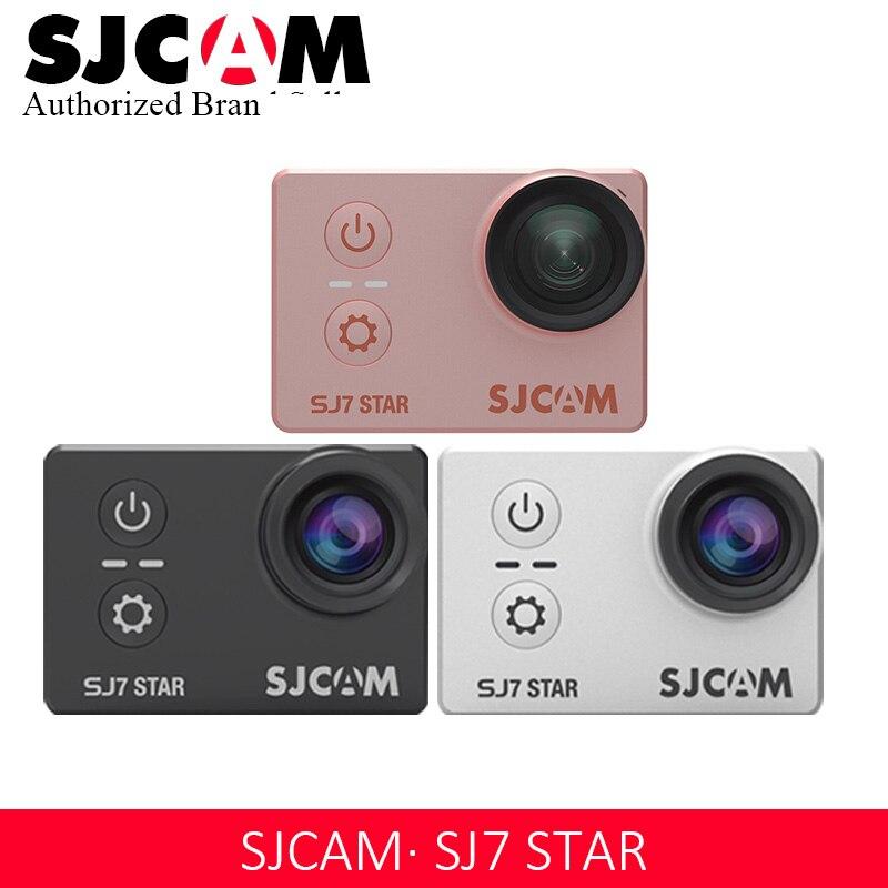 Оригинальная Экшн камера SJCAM SJ7 STAR Ambarella 4 к Ultra HD WiFi DVR Автомобильная Камера Подводная водостойкая мини Дрон видеокамера