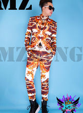 2015 men suits (jacket+ shirt +pants) costume singer dancer show party Male dj costume slim jacket male suit ds costumes bar