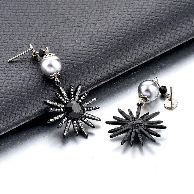 Модные Винтажные очаровательные серьги chicvie для женщин ювелирные
