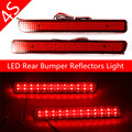 Brand New 2PCS Range Rover Sport L320 Discovery 3 4 Rear Bumper Reflector LED Brake Light Red(CA183) car-styling