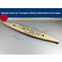 1/350 Scale Wooden Deck for Trumpeter 05316 German Admiral Graf Spee Ship Model CY350021