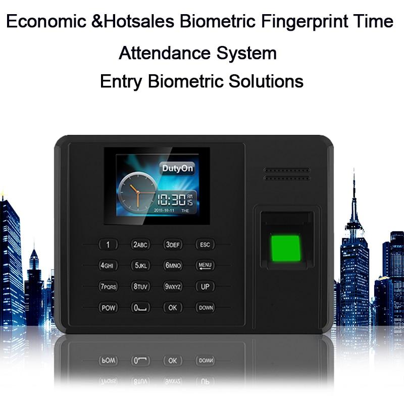 Biometric Time Attendance System TCP IP USB Fingerprint Reader Time Attendance Time Clock For School Office