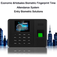 Biometric Time Attendance System TCP/IP USB Fingerprint Reader Time Attendance Time Clock For School Office Employees Device