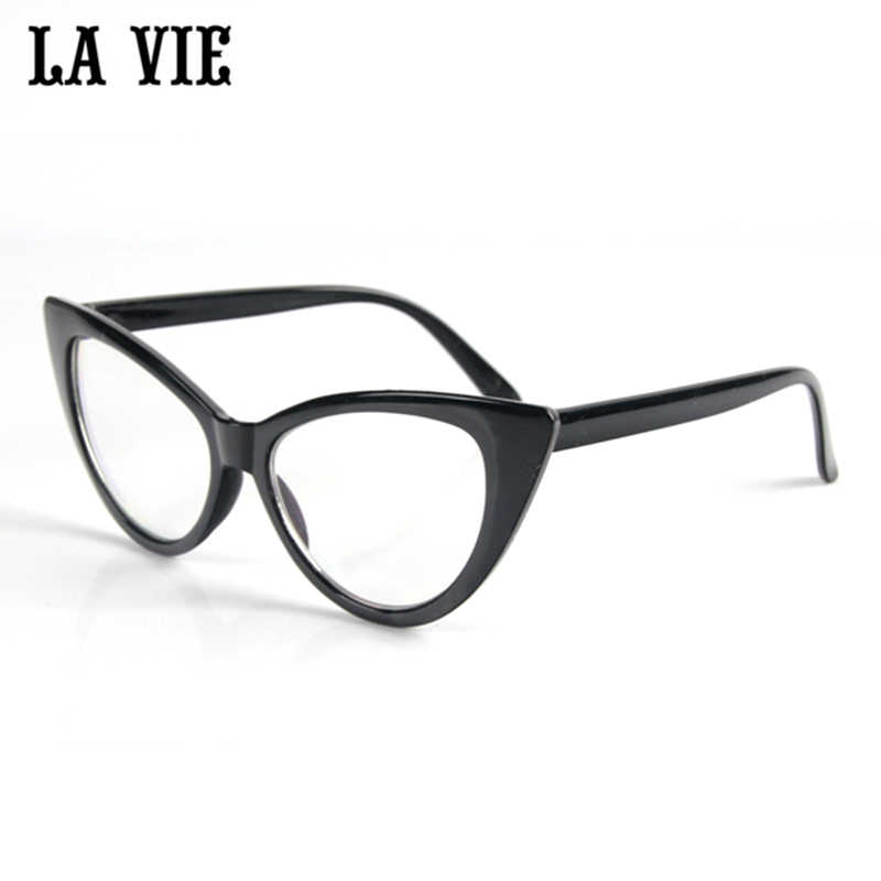 cc32a88061 Special Offer 6 Color Cat eye Glasses Frame For Women High quality Cat Eye  glasses Eye