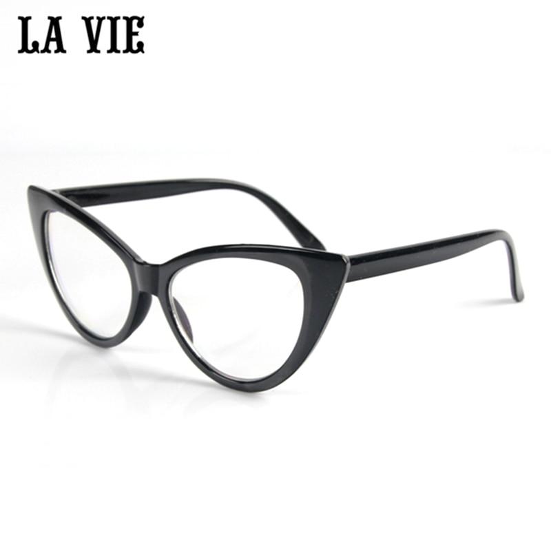 Online-Shop Spezielle Bieten 6 Farbe Cat eye Brille Rahmen Für ...