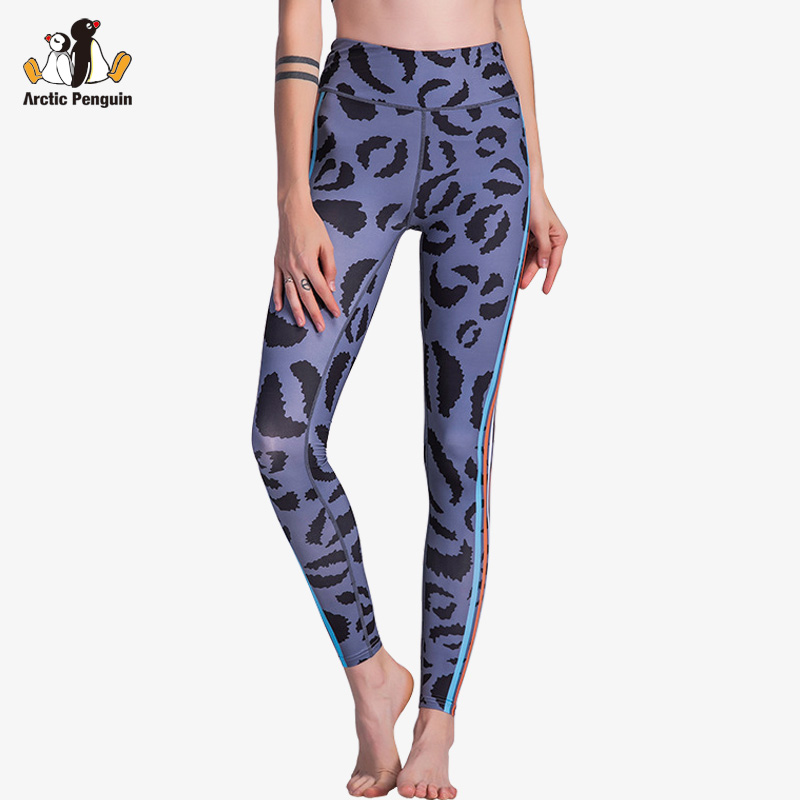 AP High Waist Compression 3D Print Yoga Pants Quick Dry Workout Sport Leggings Fitness Clothes For Women