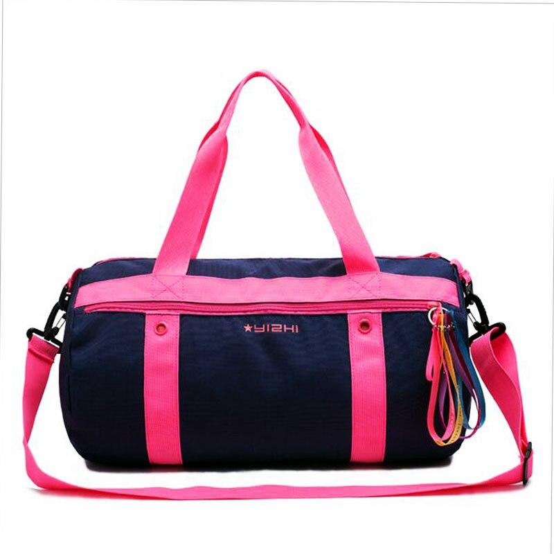 Mujeres Natación bolsa impermeable bolsa seca gran capacidad de peso ligero Natación al aire libre Ropa de deporte seco mojado separación bolso
