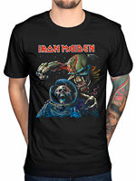 2017 New Fashion Iron Maiden Final Frontier T Shirt Brave New World Fear Of The Dark