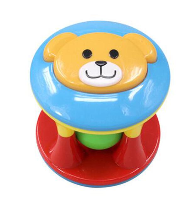 2 PCS/Set Lovely Baby Hand Shake Bell Ring Rattles Toys