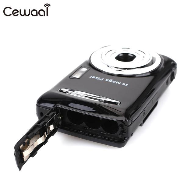 Cewaal Black Ultra Photo 16MP 1080P HD Digital Camera DVR 16MP 1080P HD Camera Precise Video Recorder 16MP 1080P Camera DV