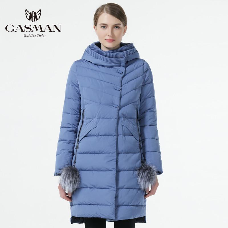 OFTBUY 2019, зимняя женская куртка, новая длинная парка, пальто с натуральным мехом, большой воротник из меха енота, парка с капюшоном, толстая вер... - 2
