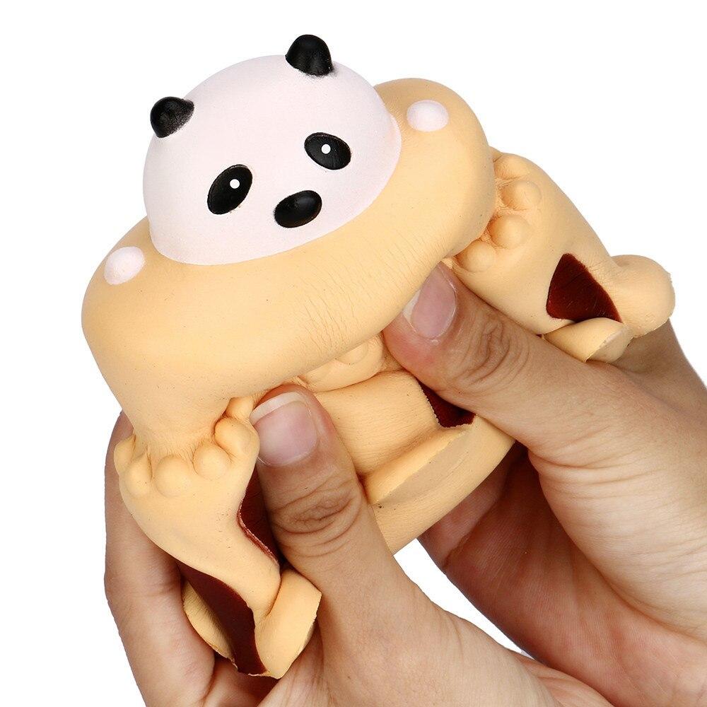 Antistress Elastic Environmentally PU Cat Antistress Panda Cake Cream Stress Relief Slow Rising Squishies Toys
