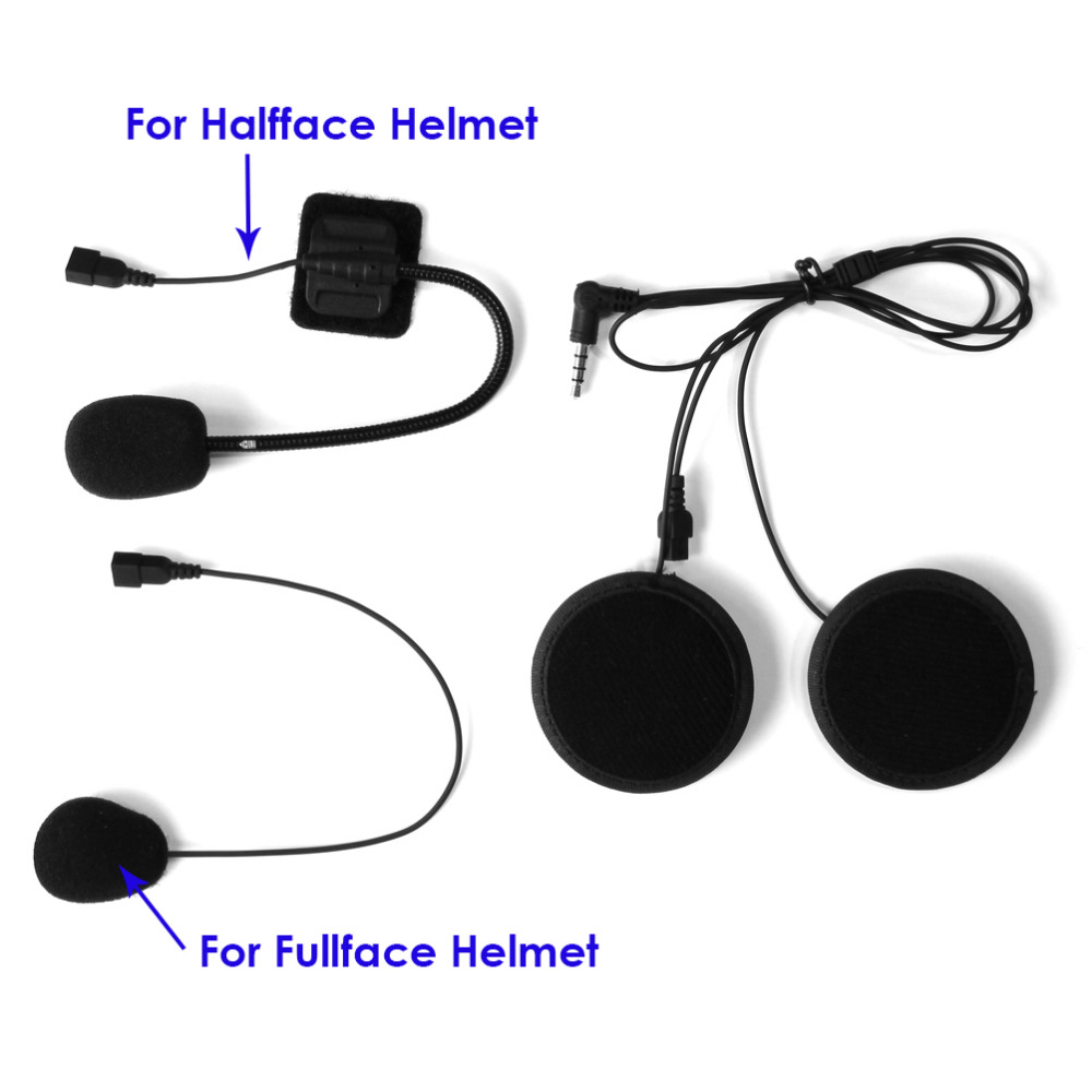 brand lexin intercom headset clip set accessories for lx. Black Bedroom Furniture Sets. Home Design Ideas