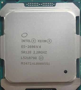 E5 2698V4 XEON E5-2698V4 CPU Processor 2.20GHz 20-Core 50M Cache DDR4 2400MHz E5-2698 V4 FCLGA2011-3 TPD 135W 1 year warranty