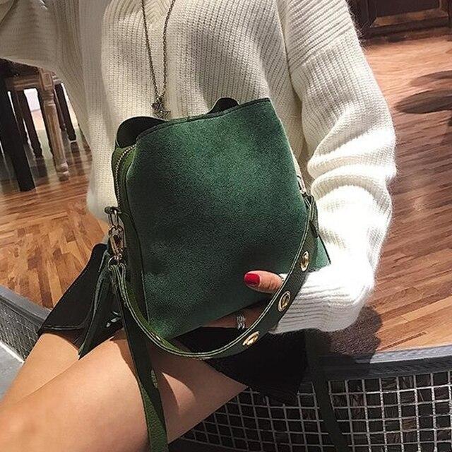 Scrub Bucket Crossbody Bag  1