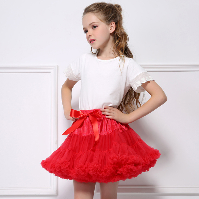 Child Women Pink Tutu Skirt Fluffy Youngsters Skilled Ballet Pettiskirt Princess Tulle Social gathering Dance Skirts For Women Wholesale