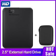 "Western Digital WD Elements 2.5 ""Portable 1TB HDD External Hard Drive 1TB HD Hard Disk USB3.0 500GB 2TB untuk Komputer Laptop PC(China)"