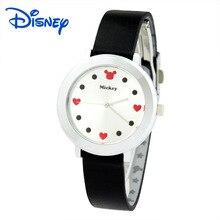 Disney бренда Детей Кварцевые часы 30 м водонепроницаемый Микки дети часы девушки Мультфильм Аниме спортивные часы
