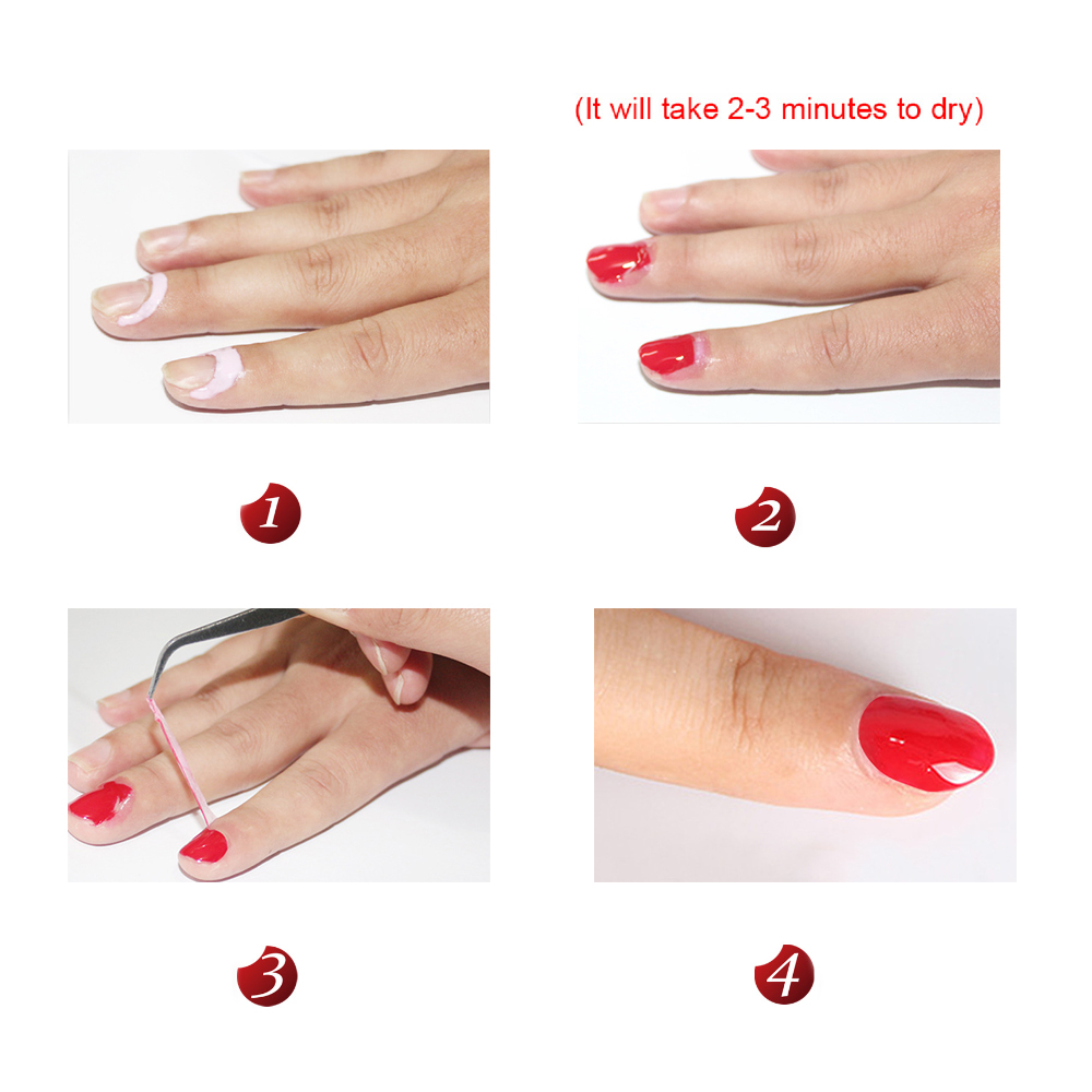 Nail Polish Protector Glue- HireAbility