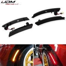 IJDM Amber/kırmızı tam LED yan Marker işık kiti 2007-2013/14 MINI Cooper R55 R56 R57 R58 r59 R60 OEM değiştirin yan işaretleyici lambaları