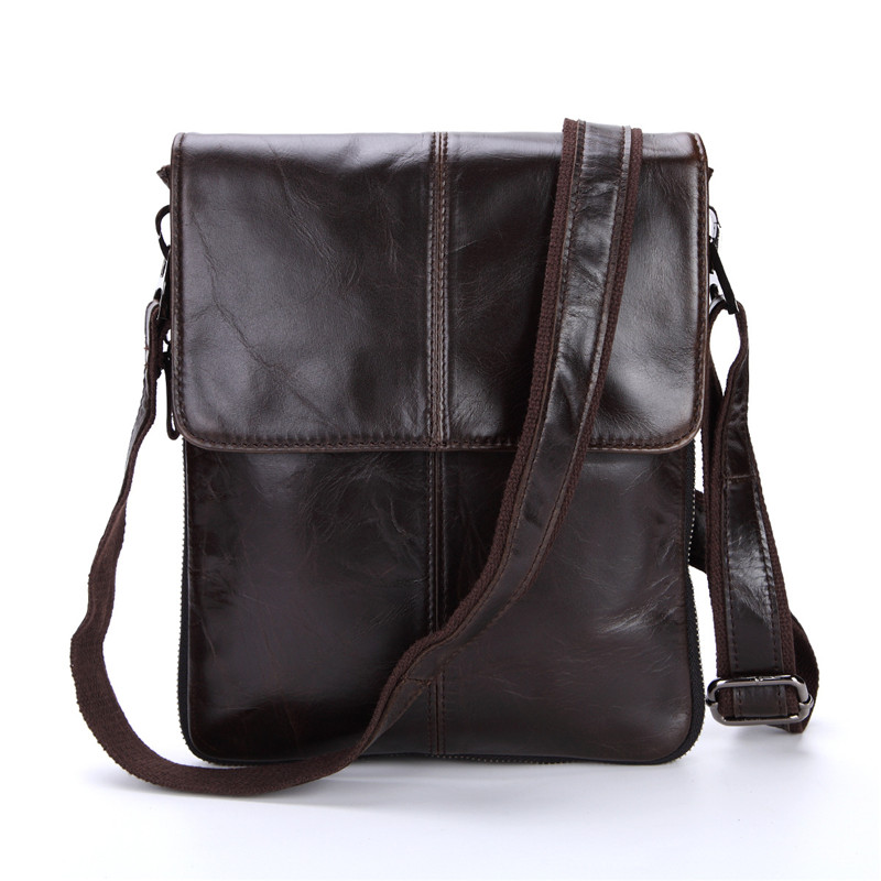 0adba58f5e76 ... 14   Laptop Business Male Briefcase. US  92.99. Nesitu High Quality  Brown Coffee Vintage Real Skin Genuine Leather Small Men Messenger Bags  Shoulder Bag