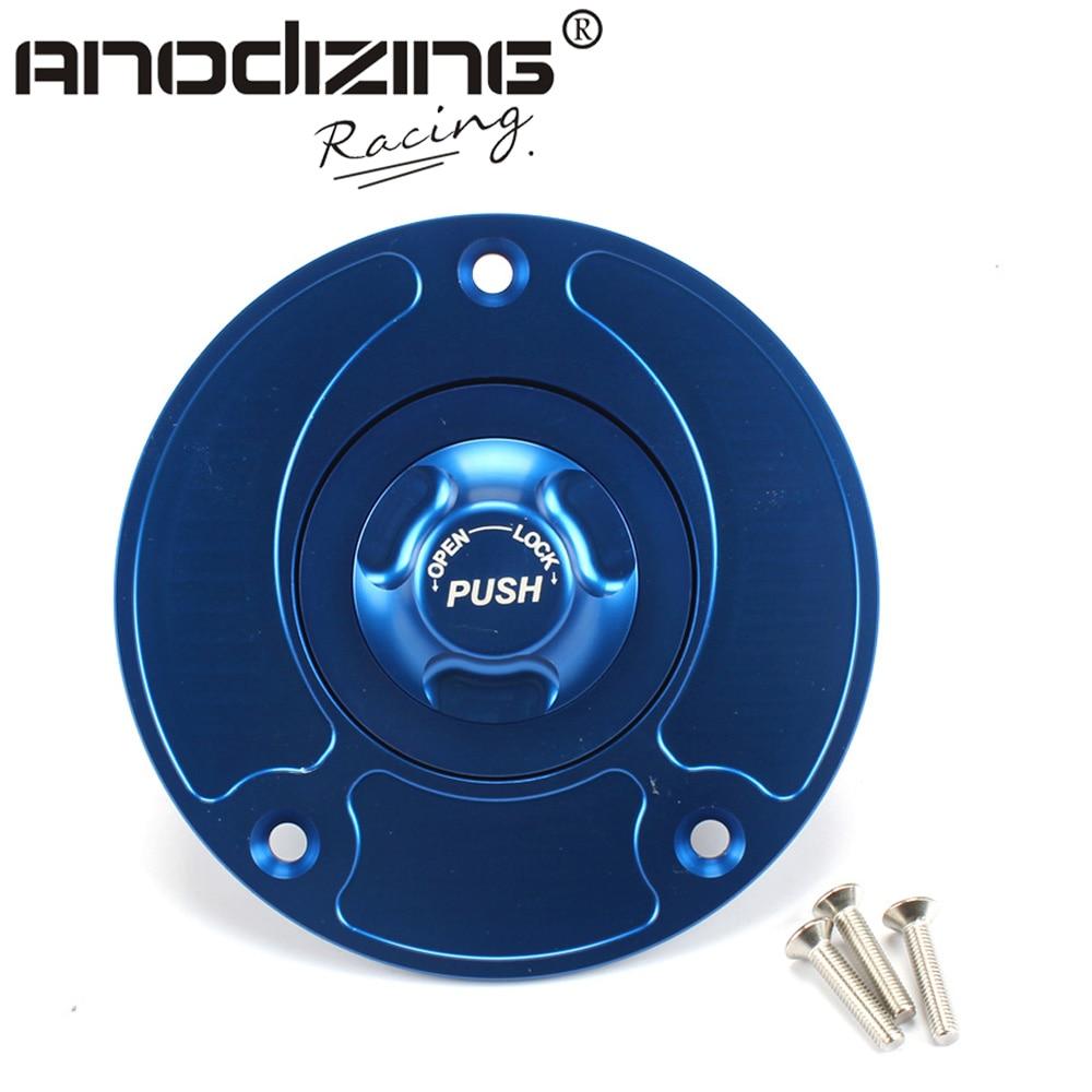 Motorcycle New CNC Aluminum Fuel Gas <font><b>CAPS</b></font> Tank <font><b>Cap</b></font> tanks Cover With Rapid Locking For SUZUKI GSX600F GS600F TL1000S/<font><b>R</b></font>