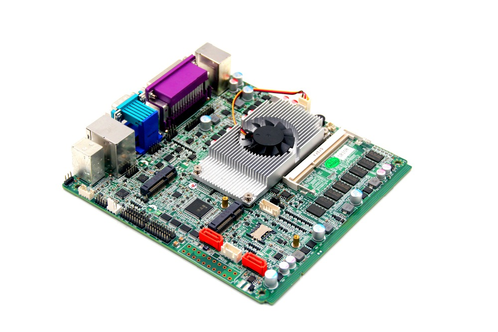 Firewall computer motherboard 1037U mini itx motherboard support 4wire 5wire 8wire m945m2 945gm 479 motherboard 4com serial board cm1 2 g mini itx industrial motherboard 100