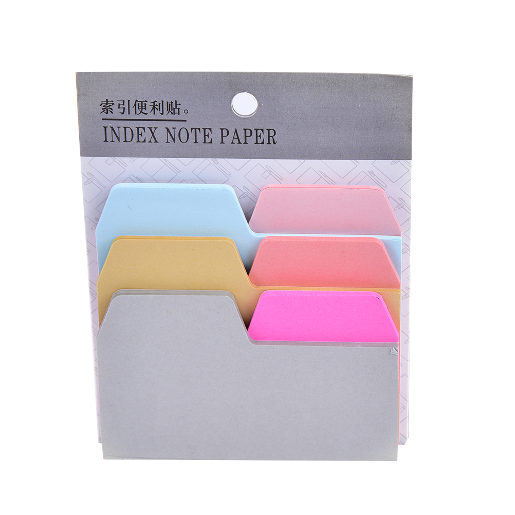 6 Colors Notebook Note Index Paper Card Sticker Note Memo for School office