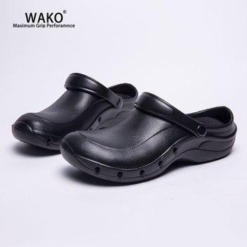 nueva estilos f262b 43f75 Zuecos Para Hombres | Zapatos De Chef De Trabajo De WAKO ...