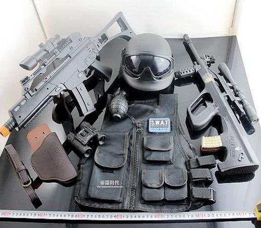 Cos SWAT / policía G36 / agosto / pistola de juguete eléctrico de ...