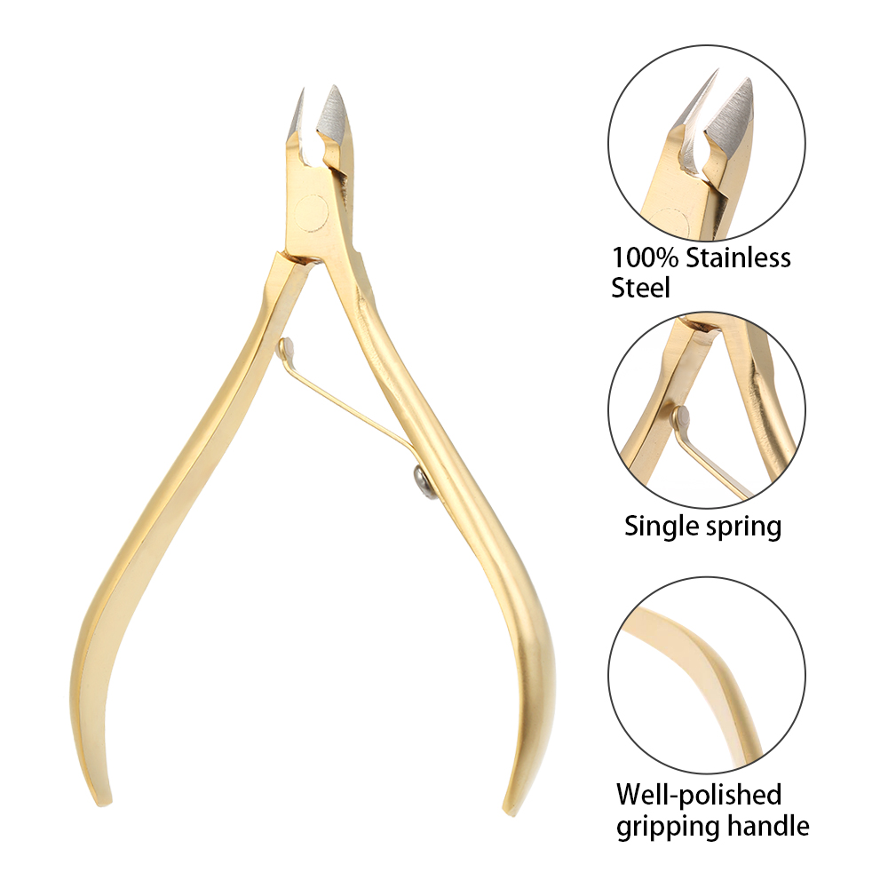 Professional Cuticle Remover Cutter Nipper Trimmer Stainless Steel Dead Skin Remover Cuticle Clipper Pedicure Manicure Tools