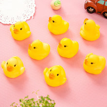 Hot Rubber Duck Duckie Baby Shower Water toys for baby kid children Birthday Favors Gift toy kids bath toys(China)