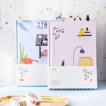 2019 קוריאני Kawaii חמוד חתול בית זמנים יומיים אישי מתכנן מארגן סדר יום מחברת Planbook A5 הטוב ביותר עבור תלמיד מתנה