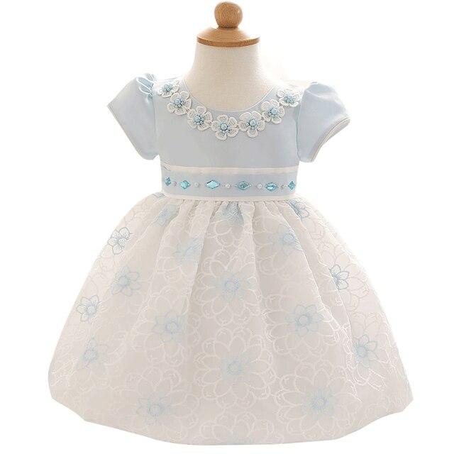 Симпатичные Девушки Цветка Dress Для Младенческой Принцесса Костюм Малышей Одежда Для Новорожденных Девочка 1 Лет Подарок На День Рождения Платья