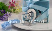 800 шт./лот свадьбы пользу партии прекрасная бабочка в сердце металлические закладки подарок для малышей книга марка, с розовой кисточкой фес